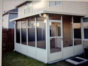 Screened In Porch - Easy assembly!