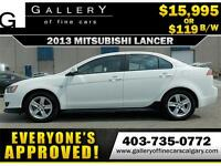 2013 Mitsubishi Lancer SE $119 BI-WEEKLY APPLY NOW DRIVE NOW