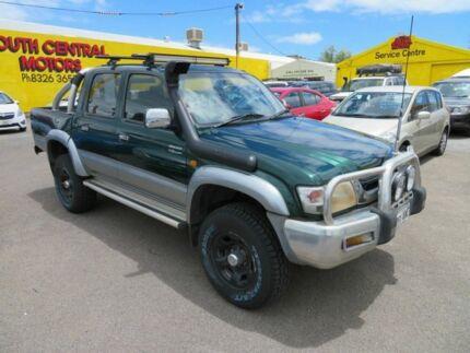 2002 Toyota Hilux SR5 Green 5 Speed Manual Dual Cab Morphett Vale Morphett Vale Area Preview