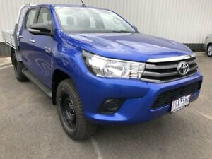 2016 Toyota Hilux GUN123R SR 4x2 Blue 5 Speed Manual Cab Chassis Oakleigh Monash Area Preview