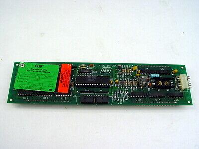 IEE FLIP 03601-40-040 Alphanumeric Fluorescent Display Module