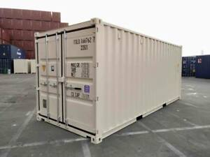 LOW RENTAL: New 20ft Shipping Container