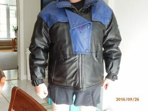 ANGORA , Women's  LEATHER SNOWMOBILE JACKET
