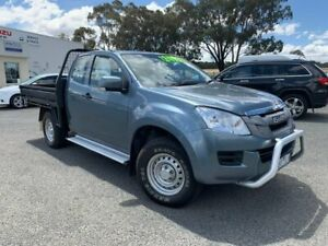 2014 Isuzu D-MAX MY14 SX Space Cab Grey 5 Speed Sports Automatic Cab Chassis Horsham Horsham Area Preview
