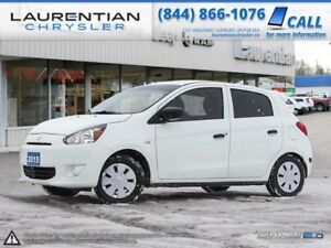 2015 Mitsubishi Mirage ES- 5SPD MANUAL!!! WINTER TIRES INCLUDED!