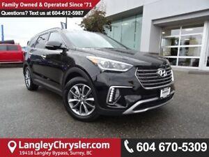 2017 Hyundai Santa Fe XL Limited *ACCIDENT FREE*ONE OWNER*LOC...