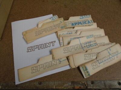 SPRINT  Sticker   new original   Dolomite Triumph All cars Size shown