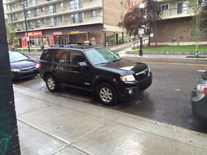 2011 Mazda Tribute SUV, Crossover with Winter Tires
