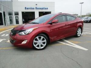 2013 Hyundai Elantra LTD EDITION with NAV sys & new winter tyres