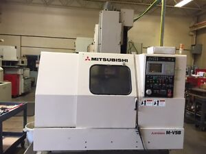 Mitsubishi M-V5B  CNC 1995 , Under POWER , AS-IS , with tooling