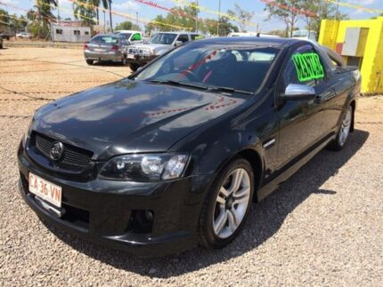 2009 Holden Ute VE MY10 SV6 Black 6 Speed Manual Utility Holtze Litchfield Area Preview