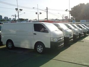 2012 Toyota Hiace TRH201R MY12 Upgrade LWB White 5 Speed Manual Van Canada Bay Canada Bay Area Preview