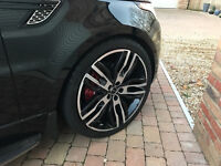 """Overfinch 23"""" Osprey Range Rover Wheels with Tyres- Set of 4."""