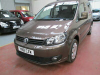 61 Volkswagen Caddy Maxi 1.6TDI Maxi Life WHEELCHAIR ADAPTED DISABLED