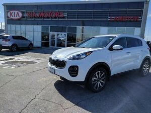 2017 Kia Sportage EX All-wheel Drive MACHINE FINISHED ALLOY RIMS