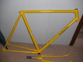 """Flying scot frame,forks nice condition appx 21"""" k prefix 1961"""