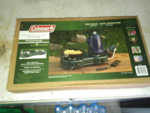 Coleman Portable Propane Camp Stove - Brand New