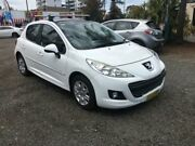 2010 Peugeot 207 A7 Series II MY10 XT White 4 Speed Automatic Hatchback Penrith Penrith Area Preview