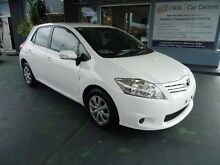 2011 Toyota Corolla ZRE152R MY11 Ascent White 4 Speed Automatic Hatchback Hamilton Newcastle Area Preview