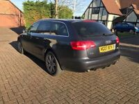 QUATTRO AUDI A6 AVANT 2.7 TDI AUTOMATIC DIESEL SATNAV LEATHER BODY KIT ALLOY WHEELS CARBON MOT