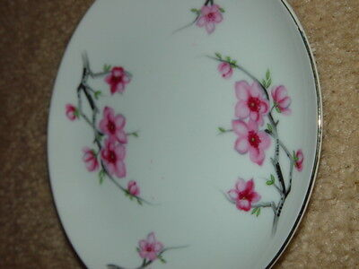 Diamond China Cherry Blossom Japan Bread Side Plate