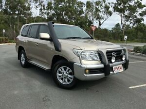 2008 Toyota Landcruiser Auto V8 Diesel GXL Beige 6 Speed Automatic Wagon Arundel Gold Coast City Preview