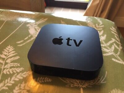 Apple TV (3rd Generation) 8GB HD Media Streamer - A1427 with remote control