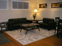 ALL INCLUSIVE FULLY FURNISHED AND EQUIPPED BASEMENT IN TIMBERLEA