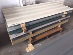 Colourbond sheets BRAND NEW - aged stock clearance 1800mm long. Osborne Park Stirling Area Preview