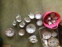 110 pieces, cups saucers, plates bowls etc 2860 Ireland