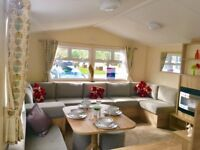 WOW! BRAND NEW 2 BED CARAVAN FOR SALE AT COOPERS BEACH, MERSEA ISLAND, ESSEX **2018 FEES INCLUDED**