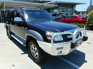 2008 Mazda BT-50 UNY0E3 DX Black 5 Speed Manual Utility Yamanto Ipswich City Preview