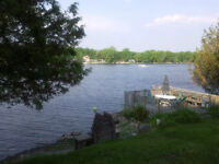 Beautiful 3 season cottage on 0.34 acre 100' on Ottawa River