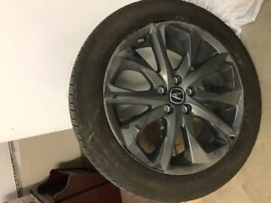 Continental winter tires for Acura MDX