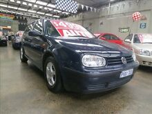 1999 Volkswagen Golf GL GL Blue 4 Speed Automatic Hatchback Mordialloc Kingston Area Preview