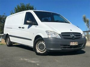 2011 Mercedes-Benz Vito 639 MY11 116CDI LWB White 6 Speed Manual Van Chevallum Maroochydore Area Preview