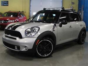 2012 MINI Cooper Countryman S /ALL4/ NAVI/ PANO ROOF/LEATHER/ AL