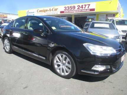 2010 Citroen C5 X7 MY10 Exclusive HDI Black 6 Speed Sports Automatic Sedan