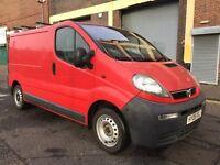 Vauxhall Vivaro 2006 1.9 CDTi 2700 Panel Van 4 door (SWB) 1 OWNER, NO VAT, BARGAIN