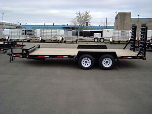 5 Ton Miska Low Bed Float Trailers - Canadian Made Kitchener / Waterloo Kitchener Area image 2