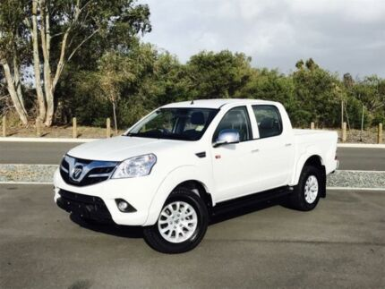 2017 Foton Tunland P201 MY16 (4x4) White 5 Speed Manual Dual Cab Utility
