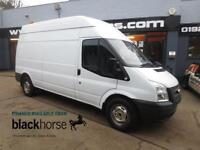2012 Ford Transit T350 2.2TDCi 125ps LWB High Roof E/W Diesel white Manual