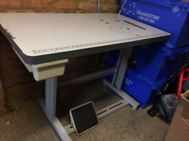 Industrial Sewing Machine Table for Sale!!!