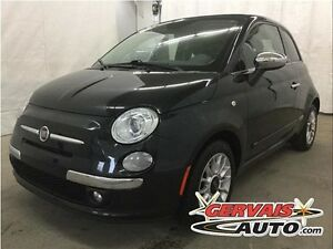 Fiat 500 C Lounge Convertible Cuir A/C MAGS *Pneus Neufs* 2013