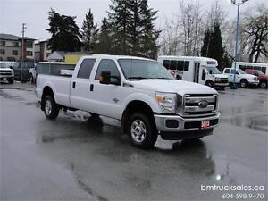 2013 FORD F-350 XLT CREW CAB LONG BOX 4X4 *DIESEL*