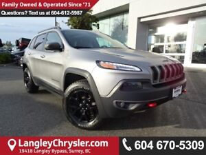 2015 Jeep Cherokee Trailhawk *ACCIDENT FREE*ONE OWNER*LOCAL B...