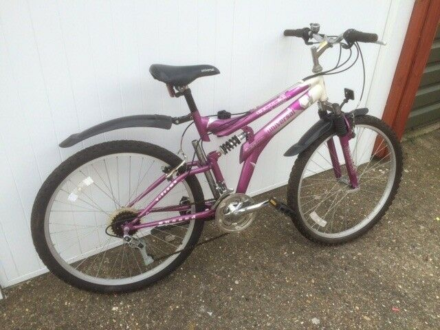 MOUNTAIN BIKE WITH FRONT & REAR SUSPENSION