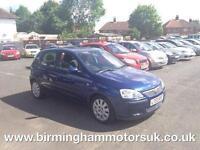 2003 (53 Reg) Vauxhall Corsa 1.0I 12V ACTIVE A/C 5DR Hatchback BLUE + LOW MILES