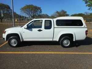 2009 Holden Colorado RC MY09 LX White 5 Speed Manual Cab Chassis