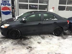 toyota yaris 2008 $3450. carte credit accepter 514-793-0833